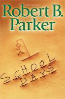 Cover image for School days bk. 33 : Spenser series