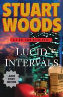 Cover image for Lucid intervals. bk. 18 [large print] : Stone Barrington series
