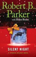 Cover image for Silent night : Spenser Holiday series