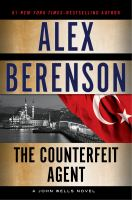 Cover image for The counterfeit agent. bk. 8 : John Wells series