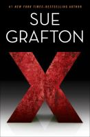 Cover image for X. bk. 24 : Kinsey Millhone mystery series