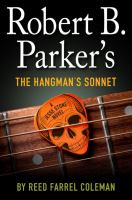 Cover image for Robert B. Parker's The hangman's sonnet. bk. 16 : Jesse Stone series