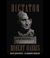 Imagen de portada para Dictator. bk. 3 [sound recording CD] : a novel : Cicero series