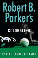 Cover image for Robert B. Parker's Colorblind. bk. 17 : Jesse Stone series
