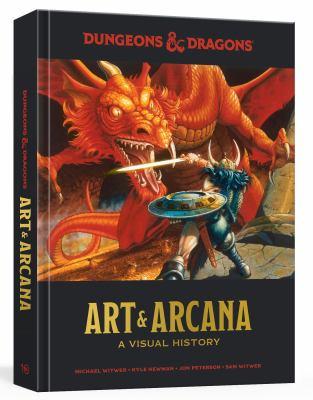 Imagen de portada para Dungeons & Dragons art & arcana : a visual history