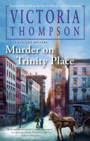 Cover image for Murder on Trinity Place. bk. 22 : Gaslight mystery series