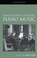 Cover image for Nineteenth-century piano music