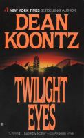 Cover image for Twilight eyes
