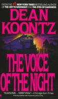 Cover image for The voice of the night