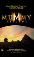 Cover image for The mummy returns : a novel