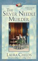 Cover image for The silver needle murder. bk. 9 : Tea shop mystery series