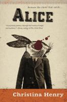 Cover image for Alice. bk. 1 : Chronicles of Alice series