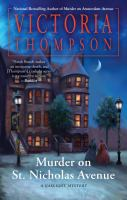 Cover image for Murder on St. Nicholas Avenue. bk. 18 : Gaslight mystery series
