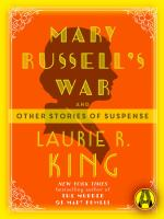 Cover image for Mary russell's war And Other Stories of Suspense.
