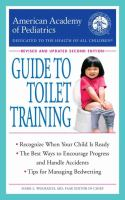 Cover image for American Academy of Pediatrics guide to toilet training