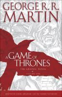 Cover image for A game of thrones. Vol. 1 [graphic novel] : the graphic novel