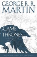 Cover image for A game of thrones. Vol. 3 [graphic novel] : the graphic novel