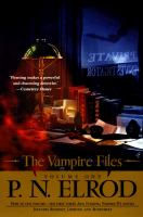 Cover image for The vampire files. Volume 1, books 1-3 : The vampire files series