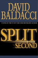 Cover image for Split second. bk. 1 : Sean King and Michelle Maxwell series