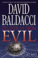 Cover image for Deliver us from evil. bk. 2 [large print] : Shaw and James series