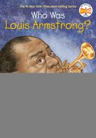Cover image for Who was Louis Armstrong?