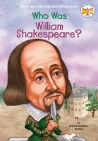 Cover image for Who was William Shakespeare?