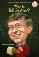 Cover image for Who is Bill Gates?