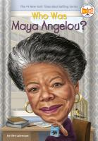 Cover image for Who was Maya Angelou?