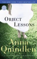 Cover image for Object lessons