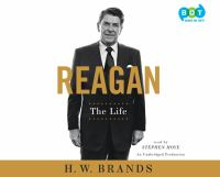 Cover image for Reagan [sound recording CD] : the life