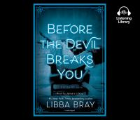 Cover image for Before the devil breaks you The Diviners Series, Book 3.
