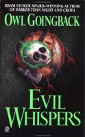 Cover image for Evil whispers