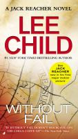 Cover image for Without fail A Jack Reacher Novel.
