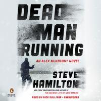 Cover image for Dead man running. bk. 11 [sound recording CD] : Alex McKnight series