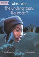 Cover image for What was the underground railroad?