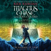 Cover image for The hammer of Thor. bk. 2 [sound recording CD] : Magnus Chase and the gods of Asgard series