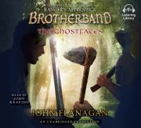 Cover image for The ghostfaces Brotherband Chronicles, Book 6.