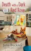 Cover image for DEATH WITH A DARK RED ROSE