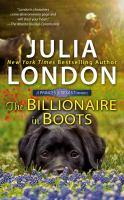 Imagen de portada para The billionaire in boots. bk. 3 : Princes of Texas series