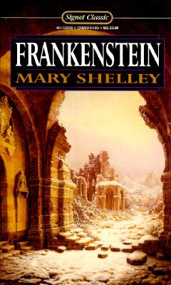 Cover image for Frankenstein : or, the modern Prometheus