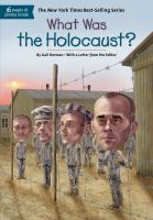 Cover image for What was the Holocaust?