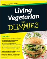 Cover image for Living vegetarian for dummies