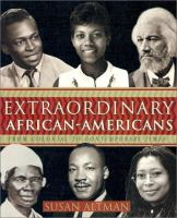 Cover image for Extraordinary African-Americans