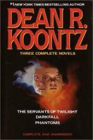 Cover image for Dean R. Koontz : three complete novels