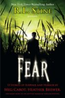 Cover image for Fear : 13 stories of suspense and horror