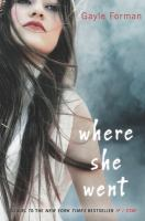 Cover image for Where she went