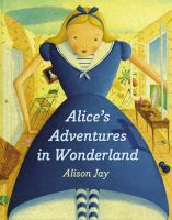 Cover image for Alice's adventures in Wonderland [board book]