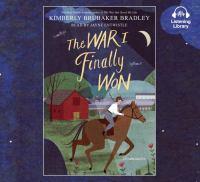 Imagen de portada para The war I finally won. bk. 2 [sound recording CD] : War that saved my life series