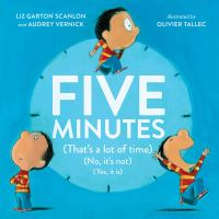 Cover image for Five minutes (that's a lot of time) (no, it's not) (yes, it is)
