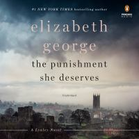 Cover image for The punishment she deserves. bk. 20 [sound recording CD] : Inspector Lynley series